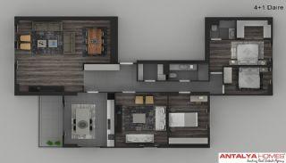 Элитные Апартаменты в Комплексе, Планировка -5