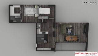 Luxury Apartments in a Complex, Property Plans-6
