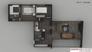 Элитные Апартаменты в Комплексе, Планировка -6