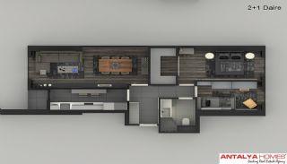 Элитные Апартаменты в Комплексе, Планировка -7