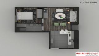 Элитные Апартаменты в Комплексе, Планировка -8