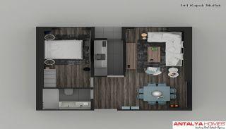 Элитные Апартаменты в Комплексе, Планировка -9