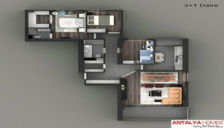 Luxury Apartments in a Complex, Property Plans-10