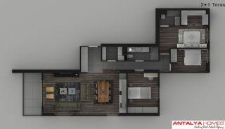 Элитные Апартаменты в Комплексе, Планировка -11
