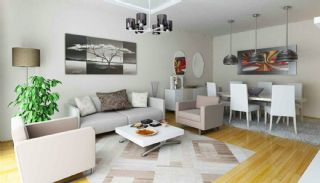 Modernes Appartements de Luxe et de Qualité à Bahcesehir, Photo Interieur-2