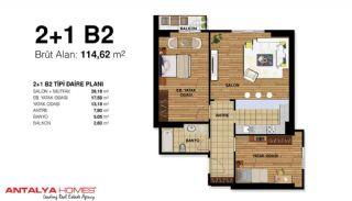 Элитные Апартаменты на Продажу Высокого Качества, Планировка -4