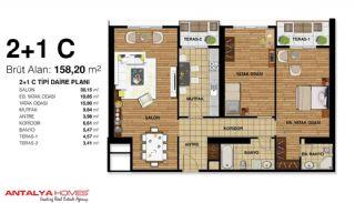 Элитные Апартаменты на Продажу Высокого Качества, Планировка -5