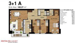 Элитные Апартаменты на Продажу Высокого Качества, Планировка -7