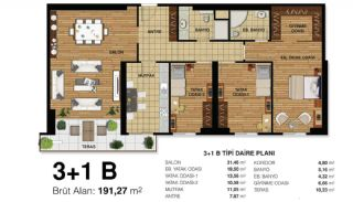 Modernes Appartements de Luxe et de Qualité à Bahcesehir, Projet Immobiliers-8