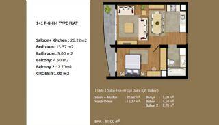 Современные Апартаменты с Хорошим Расположением, Планировка -5