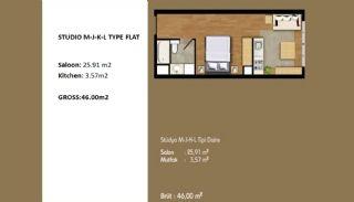 Современные Апартаменты с Хорошим Расположением, Планировка -6