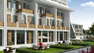 Каскад Домов с Необычным Дизайном, Башакшехир / Стамбул