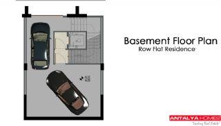 Maisons Row avec jardin privé, Projet Immobiliers-1