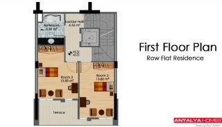 Maisons Row avec jardin privé, Projet Immobiliers-3