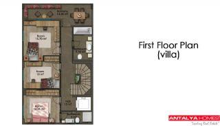 Feistehende Villen in einer großen Wohnanlage, Immobilienplaene-3