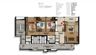 Modern Apartments in a Big Complex, Property Plans-1
