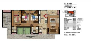 Modern Apartments in a Big Complex, Property Plans-2