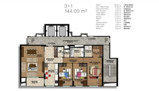 Modern Apartments in a Big Complex, Property Plans-4