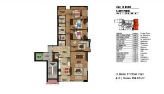 Modern Apartments in a Big Complex, Property Plans-5