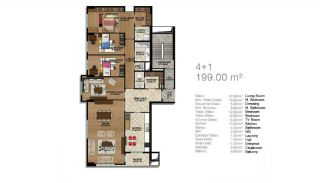 Modern Apartments in a Big Complex, Property Plans-7