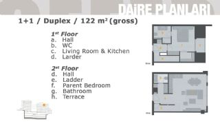 Комфортабельные Апартаменты на Продажу в Центре, Планировка -1