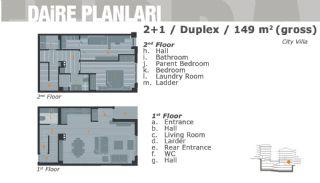 Комфортабельные Апартаменты на Продажу в Центре, Планировка -3