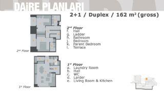 Комфортабельные Апартаменты на Продажу в Центре, Планировка -4