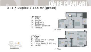 Комфортабельные Апартаменты на Продажу в Центре, Планировка -5