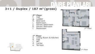 Комфортабельные Апартаменты на Продажу в Центре, Планировка -6
