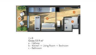 Exclusieve Appartementen op een Centrale Locatie, Vloer Plannen-1