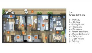 Exclusieve Appartementen op een Centrale Locatie, Vloer Plannen-4