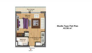 Качественные Апартаменты с Современным Дизайном, Планировка -2