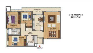 Качественные Апартаменты с Современным Дизайном, Планировка -6