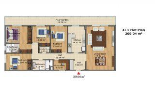 Качественные Апартаменты с Современным Дизайном, Планировка -7