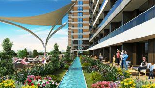 Luxus Wohnungen in der Zentrale, Istanbul / Kucukcekmece - video