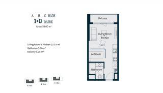 Квартиры с  Центральным Расположением в Стамбуле, Планировка -1
