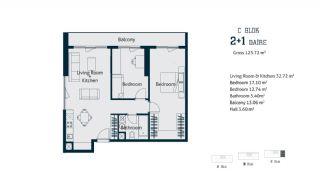 Квартиры с  Центральным Расположением в Стамбуле, Планировка -4