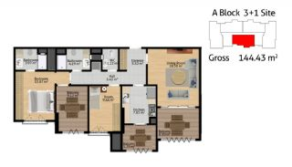 Istanbul Flats for Sale, Property Plans-2