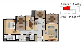 Istanbul Flats for Sale, Property Plans-4