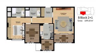 Istanbul Flats for Sale, Property Plans-6