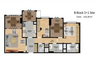 Istanbul Flats for Sale, Property Plans-7