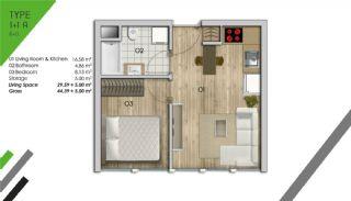 Appartement de Luxe Dans le Centre d'Istanbul, Projet Immobiliers-2