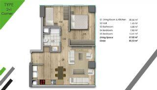 Appartement de Luxe Dans le Centre d'Istanbul, Projet Immobiliers-3