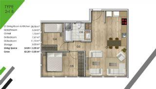 Appartement de Luxe Dans le Centre d'Istanbul, Projet Immobiliers-4
