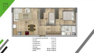 Luxus Wohnungen zum Kauf im Zentrum, Immobilienplaene-5