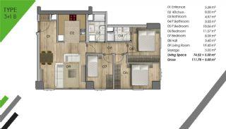Appartement de Luxe Dans le Centre d'Istanbul, Projet Immobiliers-6