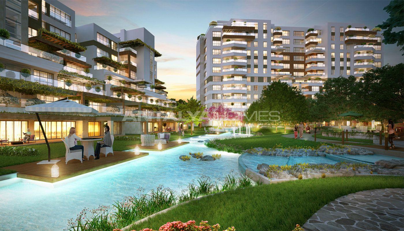 Istanbul Appartements Avec Le Concept De Village