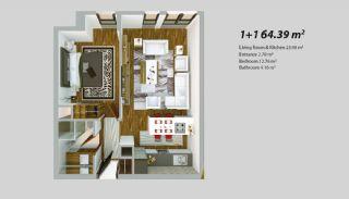 Современный Проект для Инвестирования в Стамбуле, Планировка -2