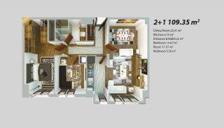 Современный Проект для Инвестирования в Стамбуле, Планировка -5