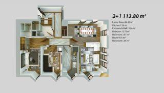 Современный Проект для Инвестирования в Стамбуле, Планировка -8